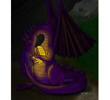 Momma Dragon Photographic Print