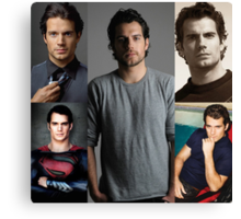Mr. Cavill Canvas Print
