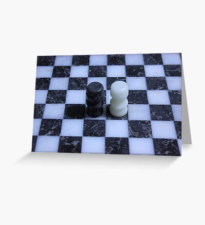 Chess Greeting Card