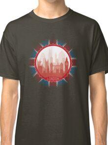 London City Skyline - black Classic T-Shirt