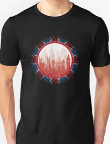 London City Skyline - black Unisex T-Shirt