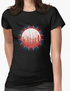 London City Skyline - black T-Shirt