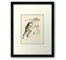 Keeping It Hot Framed Print