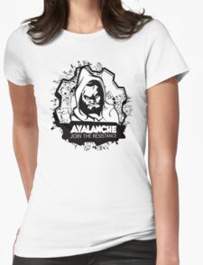 AVALANCHE Womens Fitted T-Shirt