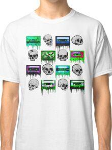Skulls and creepy Tapes Classic T-Shirt