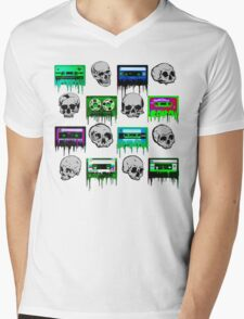Skulls and creepy Tapes T-Shirt