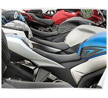 Motorcycle Seats  Poster