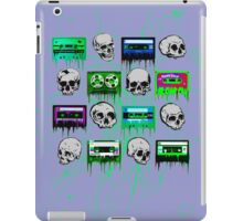 Skulls and creepy Tapes iPad Case/Skin