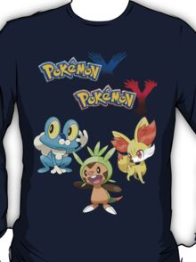 Pokemon: X and Y Starters T-Shirt