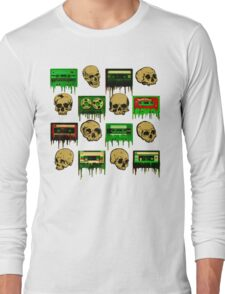 Skulls and creepy Tapes 2 Long Sleeve T-Shirt