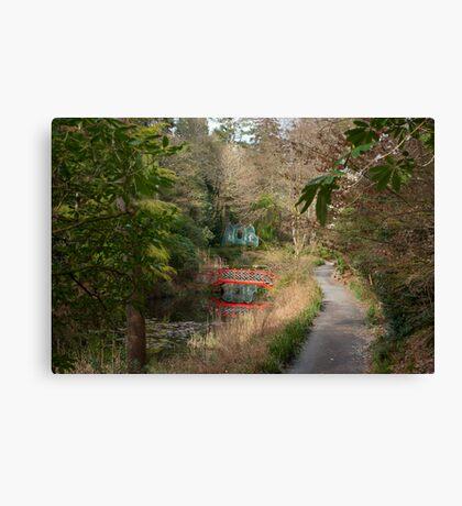 Portmeirion Gardens Canvas Print