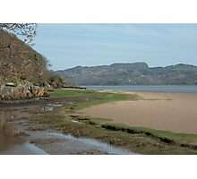 Portmeirion Beach Photographic Print