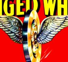Winged Wheel Sticker