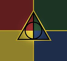 Harry Potter Deathly Hallows symbol by MCellucci
