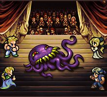 FF6 Ultros Opera by likelikes