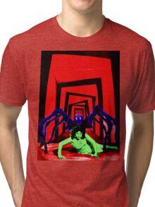 Cabinet of the Tarantula  Tri-blend T-Shirt