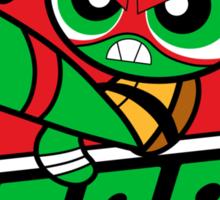 Powerpuff Raph Sticker