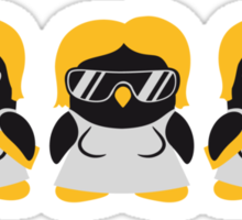 Penguin Girls Gang Sticker