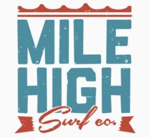 Mile High Surf Co. - Blue + Orange by Matt Andrews