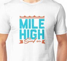Mile High Surf Co. - Blue + Orange Unisex T-Shirt