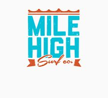 Mile High Surf Co. - Blue + Orange Unisex T-Shirt