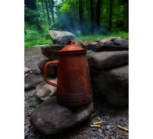 coffee campin' style Photographic Print