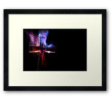 Burn Blood & Salvation Framed Print