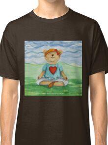 Live Love Yoga Bear  Classic T-Shirt