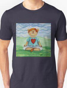 Live Love Yoga Bear  Unisex T-Shirt
