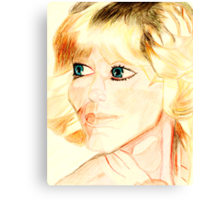 Farrah Fawcett Canvas Print