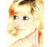 Farrah Fawcett Photographic Print