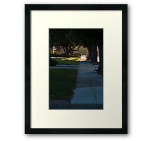 Suburbs  Framed Print