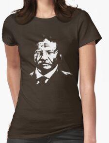 Teddy Rosevelt Womens Fitted T-Shirt