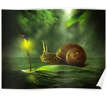 A Snail's Pace Poster
