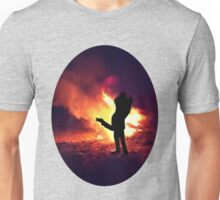 ✿♥‿♥✿ IT ONLY TAKES A SPARK TO GET A FIRE GOIN..BURNIN LOVE TEE SHIRT✿♥‿♥✿ Unisex T-Shirt