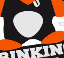 Drinking Team Member Penguin Sticker