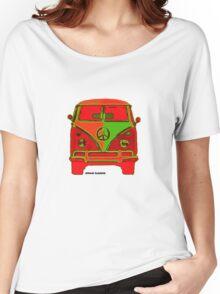 Hippie VW Bus  Women's Relaxed Fit T-Shirt