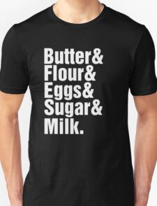 Baker Cake Decorator - Beatles Parody T-Shirt