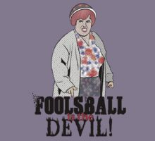 Foosball is the Devil! by clayorrnot