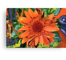 Orange Dream Canvas Print