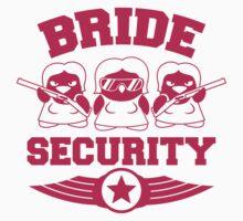Bride Security Penguins T-Shirt