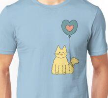 My cat loves balloons Unisex T-Shirt