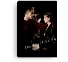 Spike And Buffy - Once More With Feeling Canvas Print