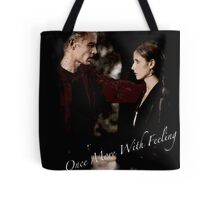 Spike And Buffy - Once More With Feeling Tote Bag