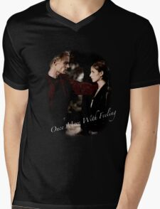 Spike And Buffy - Once More With Feeling Mens V-Neck T-Shirt