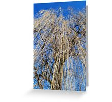 Mourning Willow Greeting Card