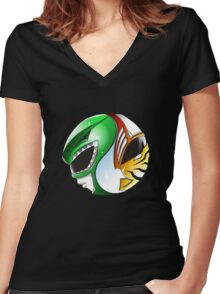 Yin Yang Tommy Women's Fitted V-Neck T-Shirt