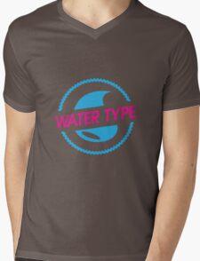 Water Type Mens V-Neck T-Shirt