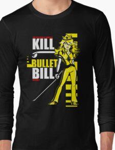 Kill Bullet Bill (Black & Yellow Variant) Long Sleeve T-Shirt