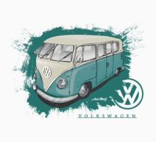 Splitty - Volkswagen Kombi by automotif